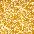 Thistle Wallpaper Design, Late 19th by William Morris