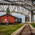 Thomas Edison Museum And Rr Track by Grace Grogan
