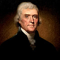 Thomas Jefferson By Rembrandt Peale by Bill Cannon