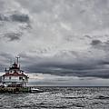 Thomas Point Lighthouse by Erika Fawcett