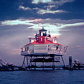 Thomas Pt.  Shoal Lighthouse by Skip Willits