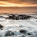 Thor's Well by Mike  Walker