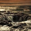 Thor's Well by Rick Luiten