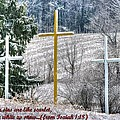 Though Your Sins Are Like Scarlet - They Shall Be White As Snow - From Isaiah 1.18 by Michael Mazaika