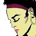Thoughtful Woman 2 by Yngve Alexandersson