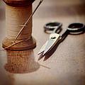 Thread And Scissors by Jill Battaglia