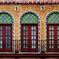 Three Arkansas Doors by Rhonda Burger