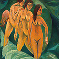 Three Bathers by Mountain Dreams