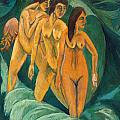 Three Bathers by Ernst Ludwig Kirchner
