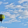 Three Beautiful Balloons In Cortez by Janice Pariza