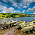 Three Boats by Adrian Evans