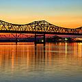 Three Bridge Sunset by Diana Powell