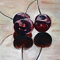 Three Cherries by Sarah Lynch