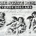 Three Dollar Bill, 1856 by Granger
