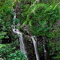 Three Falls On The Road To Hana by Richard Lynch