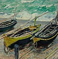 Three Fishing Boats Monet 1886 by Movie Poster Prints