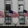Three Flags Together On 5th Avenue by Christiane Schulze Art And Photography