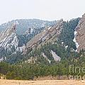 Three Flatirons Boulder Colorado by James BO  Insogna