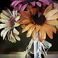 Three Flowers by Kelly Schutz
