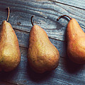 Three Gold Pears by Lupen  Grainne