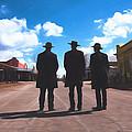Three Lawmen by Chris Bordeleau