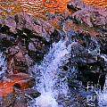 Three Little Forks In The Waterfall by John Malone