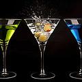 Three Martinis by Richard ONeil