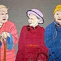 Three Mongolians by Leslie Rinchen-Wongmo