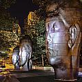 Three New Faces In Chicago's Millennium  Park by Sven Brogren