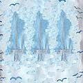 Three Of Swords by Sushila Burgess