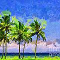 Three Palms by George Fedin and Magomed Magomedagaev
