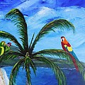Three Parrots by Jamie Frier