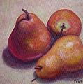 Three Pears #2 by Gay Pautz