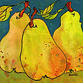 Three Pears Art  by Blenda Studio
