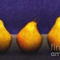 Three Pears by Jutta Maria Pusl