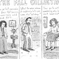 Three People Wearing Different Outfits For Fall by Roz Chast