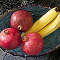 Three Pomegranates  by Donald  Erickson