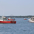 Three Red Boats by Becca Brann