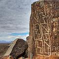 Three Rivers Petroglyphs 4 by Bob Christopher
