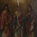 Three Saints by George Katechis