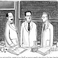 Three Scientists In A Lab by Paul Noth