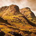 Three Sisters. Glencoe. Scotland by Jenny Rainbow