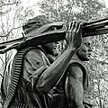 Three Soldiers In Vietnam by Cora Wandel