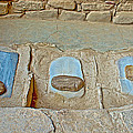 Three Stones For Grinding Corn In Spruce Tree House In Mesa Verde National Park-colorado by Ruth Hager
