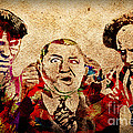 Three Stooges Graffiti by Gary Keesler