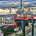 Three Tugs Hdr by Randy Harris