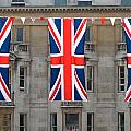 Three Union Jack Flags by Dutourdumonde Photography