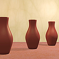 Three Vases by Gabiw Art