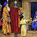 Three Wise Men Bearing Gifts by Eleanor Fortescue Brickdale
