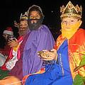 Three Wise Men On Float Christmas Parade Eloy Arizona 2005 by David Lee Guss
